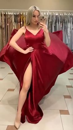 Stunning Prom Dresses, Pretty Prom Dresses, Red Bridesmaid Dresses, Bridesmaid Hairstyles, Bride Hairstyles, Summer Dresses, Summer Wedding Outfits, Prom Outfits, Wedding Summer