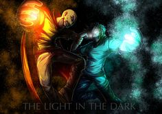 Notch vs Herobrine The Light in the Dark by Annkh-Redox