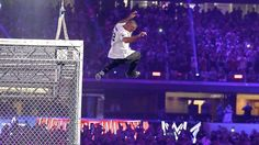 Shane McMahon attempts death-defying leap, crashes through table at WrestleMania 32