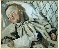 Claude Monet    The Artist's Son    1868    Oil on canvas    42 x 50cm