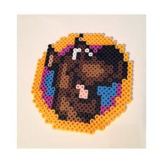Scooby-Doo perler beads by kg.crafts