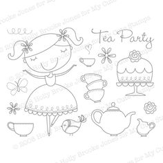 http://www.mycutestamps.com/teaparty.jpg cute stamps tea party