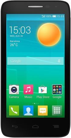 Alcatel One Touch POP D5 5038D Fashion Blue  — 4290 руб. —  Поддержка двух SIM-карт. Сенсорный экран. Операционная система: android 4.4. Слот для карты памяти. FM-радио. Поддержка 3G (UMTS). Bluetooth. Поддержка Wi-Fi. Навигация GPS. Аудиоплеер. Смартфон