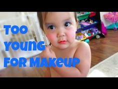 Too Young for Makeup - August 17, 2015 -  ItsJudysLife Vlogs