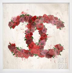 Love Roses Framed Art Home Accessories at Art.com