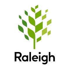 New Logo and Logo Application Videos for City of Raleigh by The Assembly Creative Logo, Creative Design, Vector Verde, D Mark, Anniversary Logo, Tree Logos, Construction Logo, Logo Design Inspiration, Visual Identity
