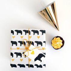 A super cute bear and balloon repeat image wrapping papervisit our store for more wrapping paper designsThis gorgeous wrapping paper is sure to make someone smile...
