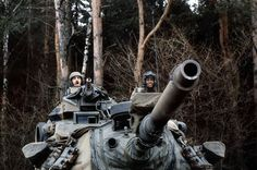 """NATO exercises in Nurenberg, Germany January """"A Certain Sentinel"""" Photo by Nancy Wong. Army Day, Us Army, Patton Tank, M48, Military Armor, Military Photos, Cold War, Military Vehicles, Mustang"""