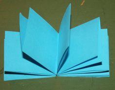 Fare libretti coi bambini – libretti semplicissimi a partire da un solo foglio