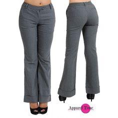 G2 Fashion Square Pin Stripe Career Trouser $23.99