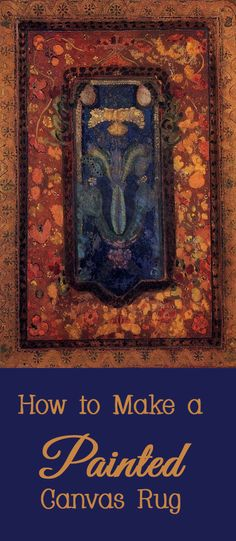 Hand painted reproduction of Design for a Prayer Rug painting. This masterpiece was painted originally by Odilon Redon. Commission your beautiful hand painted reproduction of Design for a Prayer Rug. Gustav Klimt, Gustav Adolf, Painted Floor Cloths, Painted Rug, Hand Painted, Painted Canvas, Ferdinand, Art Nouveau, Art Deco