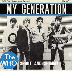My Generation/Shout And Shimmy - Belgium - 1965 Decca 45