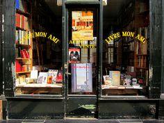 """  ♕   """"Livre Mon Ami"""" - Passage Verdeau, Paris   by © Everita"""