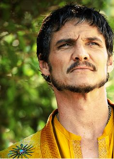 Prince Oberyn - I can't wait to see more of this sexy as hell character....I hope he stays for a while - I SHOULDN'T HAVE SAID ANYTHING DAMMIT...NOW I JUST WANNA CRY!!