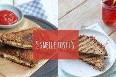 Met tosti's kan je heel goedl variëren. Het kost iets meer voorbereiding, maar zeg nou zelf: zo'n tosti lunch is het toch helemaal waard? Heerlijk met spinazie
