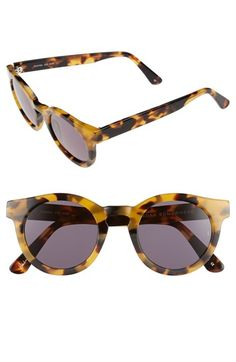 SUNDAY+SOMEWHERE+'Soelae'+46mm+Round+Sunglasses+available+at+#Nordstrom
