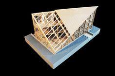 Wood Pavilion,Model