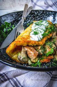 Obiad gotowy!: Placek po zbójnicku z sosem grzybowym