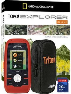 """(CLICK IMAGE TWICE FOR DETAILS AND PRICING) Magellan Triton 400 Adventure Pack Triton 400 Adventure Pack. """"Magellan Triton 400 AdventurePack Brand New Includes One Year Warranty, Product  980-0002-001 The Magellan Triton 400 AdventurePack is amazingly easy to use, its the next-generation handheld GPS for precision outd.... See More GPS Handhelds at http://www.ourgreatshop.com/GPS-Handhelds-C323.aspx"""