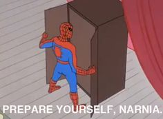 Narnia watch out here comes spiderman… The Best of 60s Spider-Man Meme