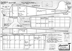 The Fantasm plan is one of the model airplane plans available for download and printing.