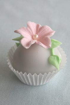 sweet and simple.... How to cover a cupcake in poured fondant