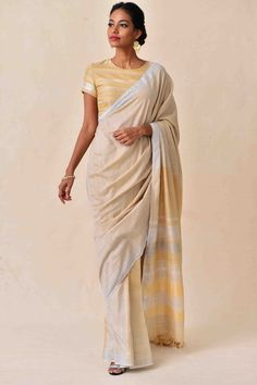 Laid-Back Luxury Collection . Handloom Saree, Saris, Saree Collection, Saree Blouse, Color Combinations, Hand Weaving, Blouses, Luxury, Chic