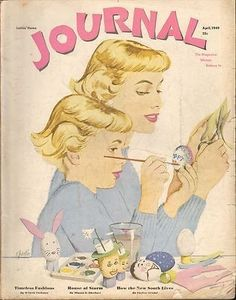 APRIL 1950 LADIES HOME JOURNAL magazine GREAT ADS - EASTER | #443518786