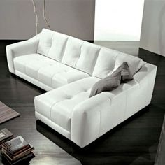 Furniture Small White L Shaped Awesome Couches With Grey Wall Color Black Flooring Color Awesome Couches For Modern Furniture Design Ideas Furniture & Decoration & Sofa  Awesome Couches For Modern Furniture Design Ideas