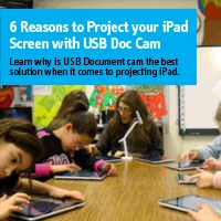 Do you need to project iPad onto the big screen for your lecture or presentation? If so, you definitely need to know why a USB document camera is the best way to go.
