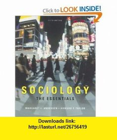 You will buy official exam instructor test bank for sociology a sociology the essentials 9780495390930 margaret l andersen howard f taylor fandeluxe Gallery