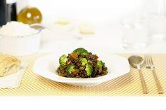 Lentejas con verduras. Receta para Crock Pot