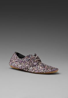 ANNIEL Derby Soft Shoe Large Glitter in Nero Edera at Revolve Clothing - Free Shipping!