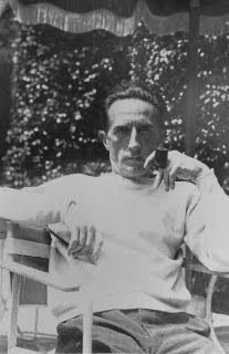 Marcel Duchamp photographed by Beatrice Wood