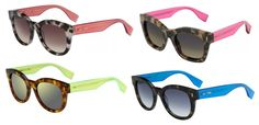Fendi Color Block Sunglasses Campaign Features Singer Kiesza