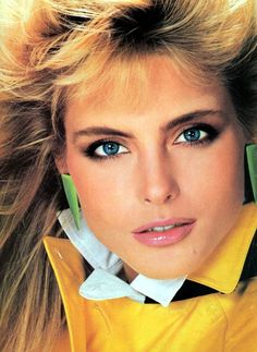 Kim Alexis, early 80s