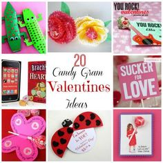 I'm in LOVE! 20 Valentine's Day Candy Grams for the Classroom