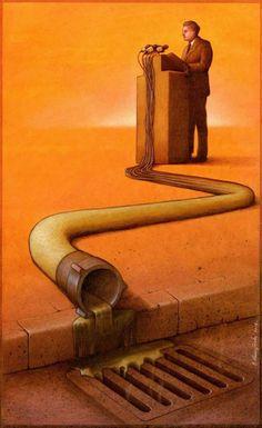 Satirical Illustration | Paul Kuczynski
