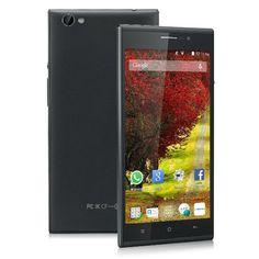 "Landvo V5 - Smartphone 3G moviles (Pantalla 5.5"", Cámara 2Mp, 4GB, Android 4.4, 1.0GHz MT6572M Dual-Core, Wifi, GPS, Bluetooth 4.0) (Negro)"