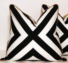 CCDeucVie Throw pillows via Etsy