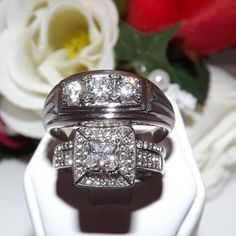 Couples Stainless Steel AAA Grade Wedding Set. Starting at $12