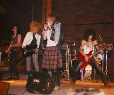 GN'R's first gig at the Troubadour, June 6,1985