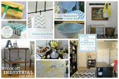 DIY Home Decor and Spring Ideas, too! @Its Overflowing