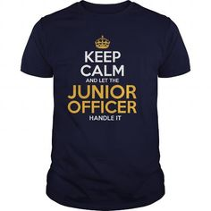 Awesome Tee For Junior Officer T-Shirts, Hoodies (22.99$ ==► Shopping Now!)