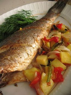 The Most Practical and Easy Recipes – Most Practical Recipes. Delicious and Yummy Recipes Fish Recipes Dairy Free, Steam Recipes, Shellfish Recipes, Pike Fishing, Sea Bass, Turkish Recipes, Homemade Beauty Products, Fish Dishes, Salmon Recipes