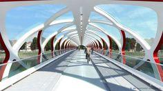 estructuras de acero para puentes peatonales - Buscar con Google