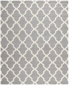 Cambridge Contemporary Indoorarea Rug Silver / Ivory