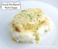 Ranch Crock Pot Pork Chops.