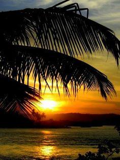 Por do Sol em Itacaré-Bahia-Brasil