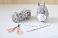 Totoro amigurumei crochet ghibli